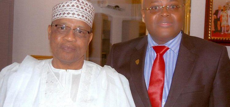 Barrister Alec Scott With Former Nigerian Military President, Gen. Ibrahim Babangida